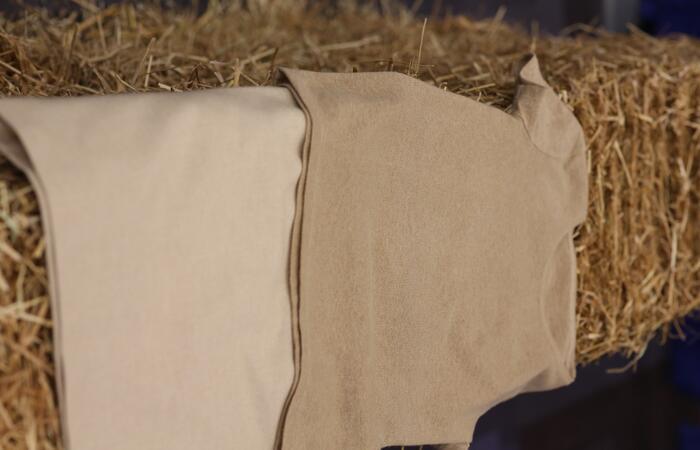 Klær laget av hvetestrå
